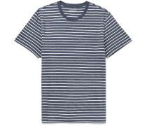 Vincent Striped Mélange Cotton-jersey T-shirt
