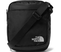 Canvas Messenger Bag - Black