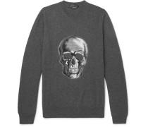 Skull-instarsia Wool Sweater