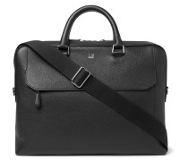 Pebble-Grain Leather Briefcase