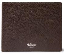 Full-grain Leather Billfold Wallet - Dark brown