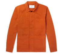 Garment-dyed Cotton-twill Jacket