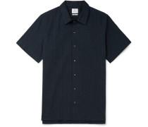 Printed Cotton-seersucker Shirt