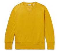 Loopback Cotton-jersey Sweatshirt - Marigold