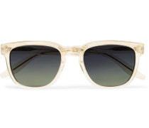 Coltrane Square-frame Acetate Polarised Sunglasses