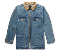 Corduroy-trimmed Selvedge Denim Jacket