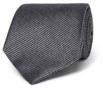 8cm Striped Silk-jacquard Tie