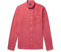 Linen Shirt - Red