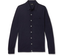 Slim-fit Wool Cardigan