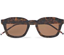 412 Square-frame Tortoiseshell Acetate Sunglasses