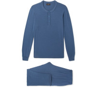Stretch Modal-blend Pyjama Set