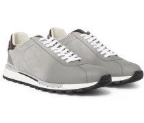 Fast Track Torino Suede And Leather Sneakers - Gray