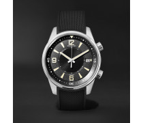 Polaris Date 42mm Stainless Steel and Rubber Watch