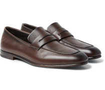 Asola Leather Penny Loafers