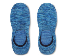 Invisible Space-Dyed Stretch Egyptian Cotton-Blend No-Show Socks