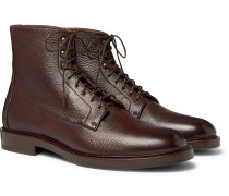 Full-Grain Leather Boots
