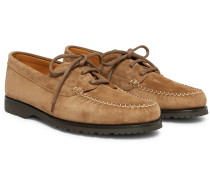 Dennis Suede Boat Shoes