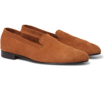 Hedsor Suede Loafers - Tan