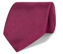 8cm Silk-twill Tie - Burgundy