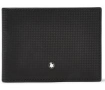 Westside Extreme Textured-leather Billfold Wallet - Black