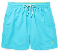 Mid-length Swim Shorts - Turquoise