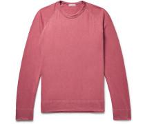 Loopback Supima Cotton-jersey Sweatshirt - Pink