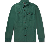 Cotton and Nylon-Blend Overshirt