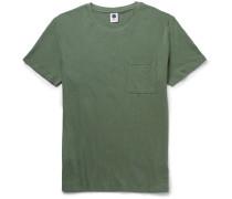Barry Linen And Cotton-blend Jersey T-shirt