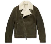 Winston Slim-fit Shearling Jacket