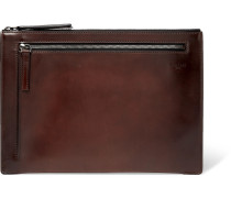 Band Leather Pouch - Brown