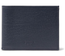 Textured-leather Billfold Wallet