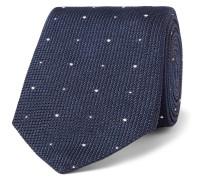 8.5cm Polka-dot Silk-grenadine Tie