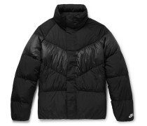 Water-repellent Quilted Nylon Down Jacket