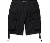Commander Slim-Fit COOLMAX Cotton-Blend Ripstop Cargo Shorts