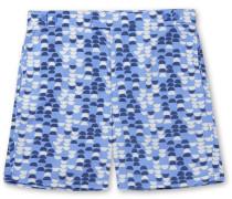 Dindi Mid-length Printed Swim Shorts