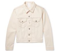Denim Trucker Jacket - White
