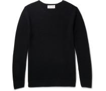 Benoit Cotton Sweater - Navy