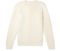 Arild Cable-knit Wool Sweater