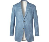 Striped Linen Suit Jacket