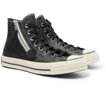 Chuck 70 Leather High-Top Sneakers
