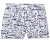 Predios Short-length Printed Swim Shorts