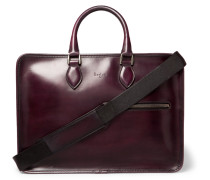 Deux Jours Leather Briefcase