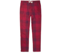 Checked Cotton Pyjama Trousers