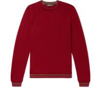 Striped Super Wish Virgin Wool Sweater - Red