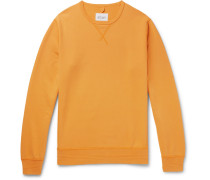 Loopback Cotton-jersey Sweatshirt - Yellow