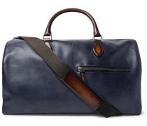 Jour-off Mm Leather Holdall - Blue
