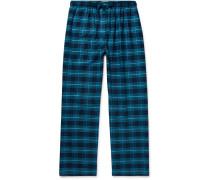 Kelburn Checked Cotton-Flannel Pyjama Trousers