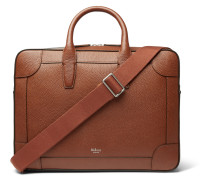 Belgrave Full-grain Leather Briefcase - Tan