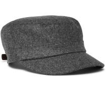 Mélange Wool Cap