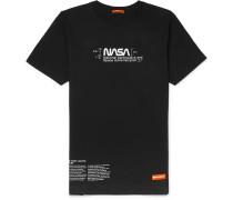 + NASA Logo-Print Cotton-Jersey T-Shirt